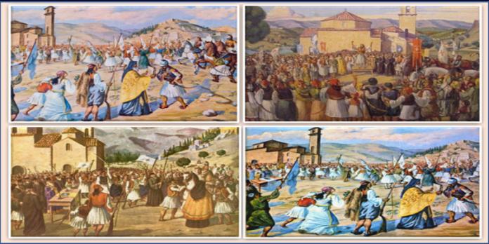 ΑΠΕΛΕΥΘΕΡΩΣΗ ΤΗΣ ΚΑΛΑΜΑΤΑΣ ΕΠΑΝΑΣΤΑΣΗ 1821