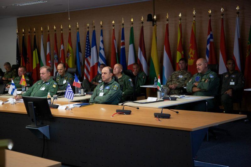 ΑΡΧΗΓΟΣ ΓΕΑ ΜΠΛΙΟΥΜΗΣ Συμπόσιο Αρχηγών Αεροποριών του ΝΑΤΟ