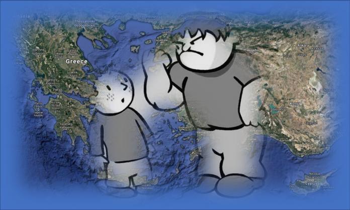 τουρκια ελλαδα bullying