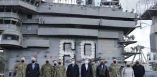 ΜΗΤΣΟΤΑΚΗΣ ΣΤΟ USS EISENHOWER